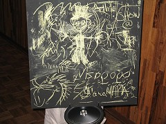 Jeff Morris- title: Chalkboards, 2007